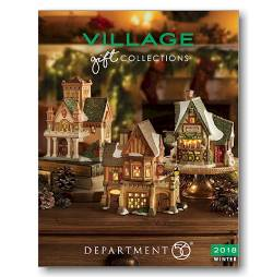 2018 Department 56 Village Catalog
