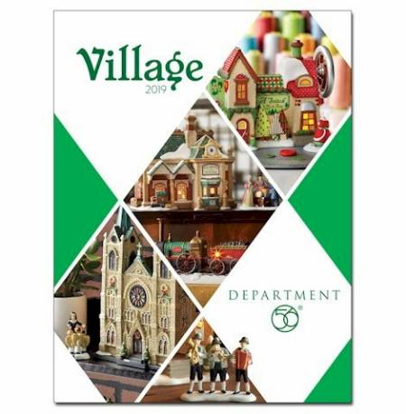 2019 Catalog for Dept. 56 Villages LARGE