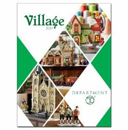2019 Catalog for Dept. 56 Villages THUMBNAIL
