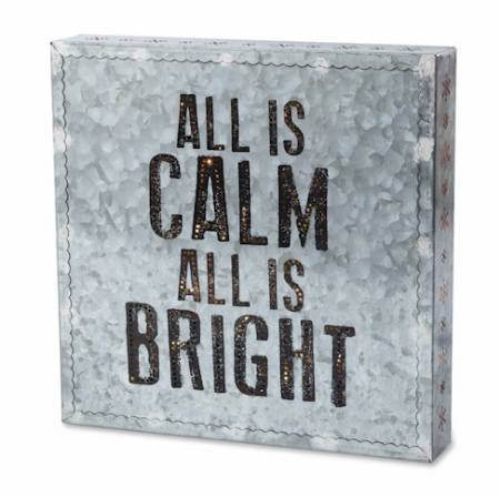 All is Calm Metal Wall Art_MAIN
