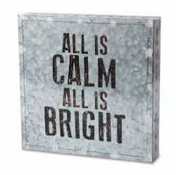All is Calm Metal Wall Art