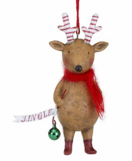 Jingle Reindeer Ornament