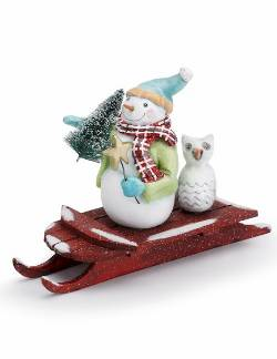Snowman on Sled_THUMBNAIL