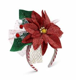 Poinsettia Headband