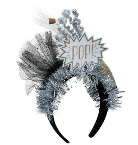 Pop Champagne Lit Headband