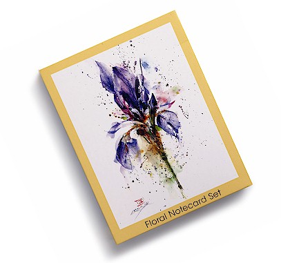 Floral Notecard Set MAIN