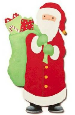Santa with Bag Magnet_THUMBNAIL
