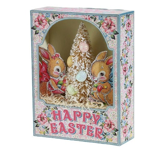 Happy Easter Shadow Box LARGE