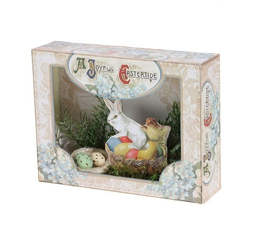 A Joyful Eastertide Shadow Box LARGE