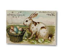 Bunny with Egg Basket Block_THUMBNAIL