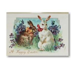 Happy Easter Bunnies Block_THUMBNAIL