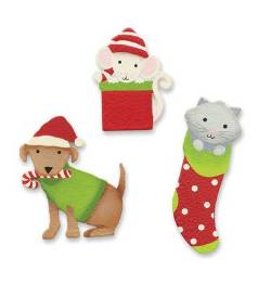 Holiday Pet Magnets