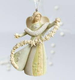 Angel with Snowflake Ornament