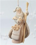 Santa with Staff Ornament Mini-Thumbnail