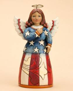 Pint Sized Patriotic Angel