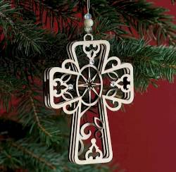 Cross Ornament THUMBNAIL