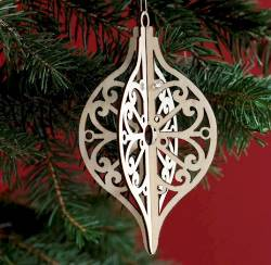 Tear Drop Ornament