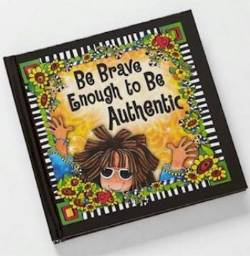 Be Brave Enough Journal