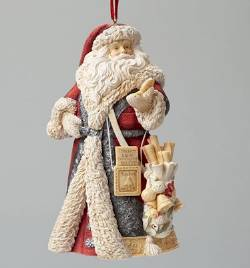 Masterpiece Santa Ornament
