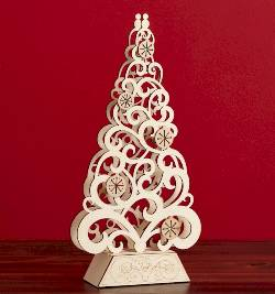 Lighted Tree Centerpiece