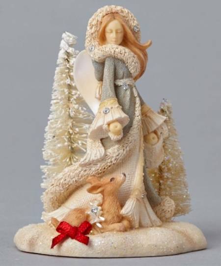 Mini Winter Vignette Angel