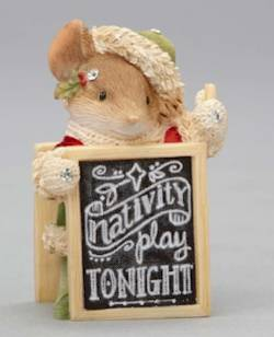 Mouse with Nativity Sign