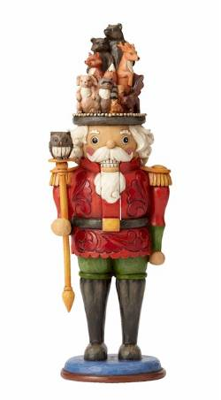 Nutcracker with Woodland Scene