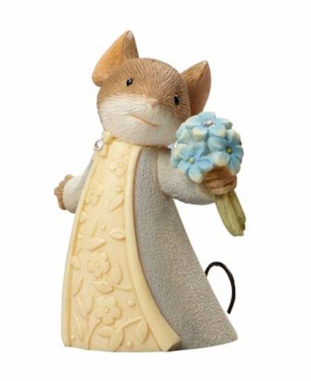 Mouse with Forget-Me-Not MAIN