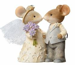 Mice Wedding Couple