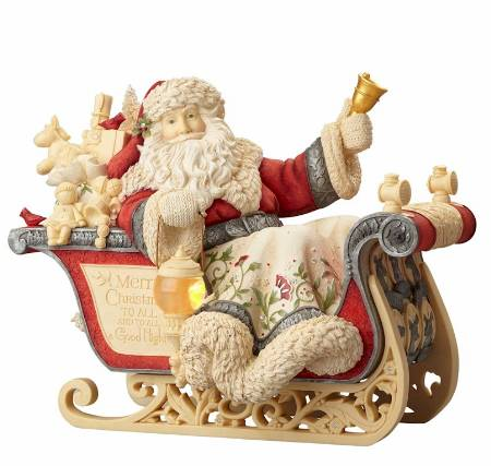 Masterpiece Santa with Sleigh