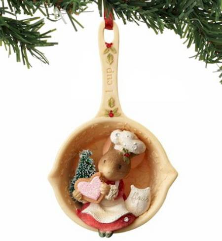 Mouse Measuring Cup Ornament