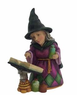 Mini Witch with Spellbook