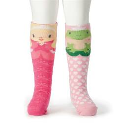 Princess and Frog Knee Socks