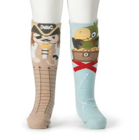 Pirate and Parrot Knee Socks