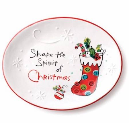 Share the Spirit Oval Plate