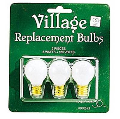 Replacement Light Bulbs - Round