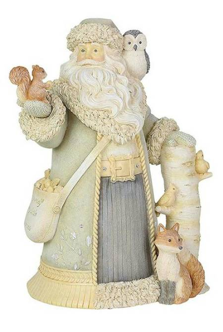 Santa with Woodland Animals Figure LARGE