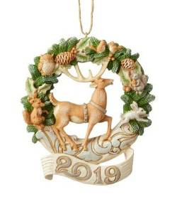 2019 Dear in Woodland Wreath Ornament_THUMBNAIL