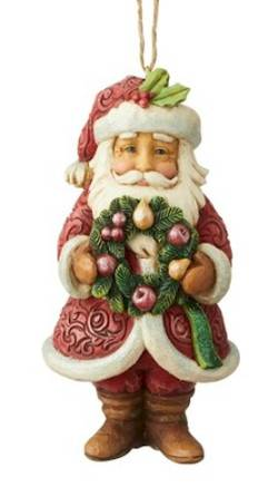 Woodland Santa Ornament_THUMBNAIL
