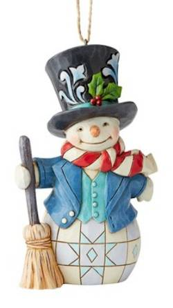 Snowman with Top Hat Ornament_THUMBNAIL