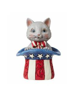 Mini Patriotic Kitten THUMBNAIL