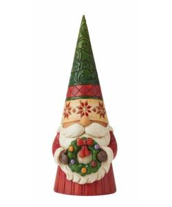 Christmas Gnome with Wreath THUMBNAIL
