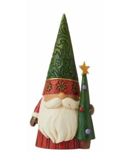 Christmas Gnome with Tree THUMBNAIL