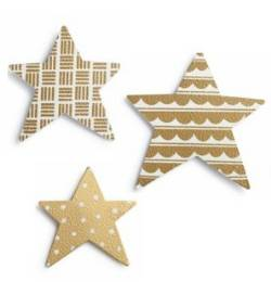 Metallic Star Magnet Set_THUMBNAIL