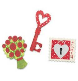 Key to My Heart Magnets