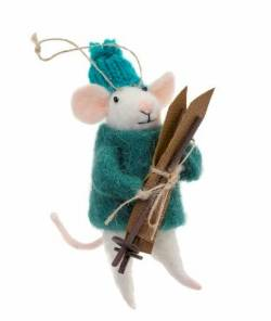 SKiing Mouse figure