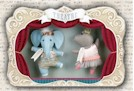 Hattie the Hippo Ballerina Ornament SWATCH