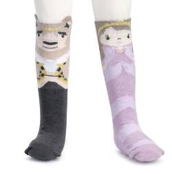 Beauty and the Beast Knee Socks