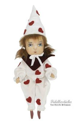 Becka Valentine Doll with Hearts THUMBNAIL