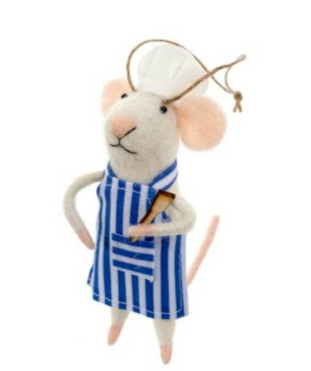 Mouse in Apron figure